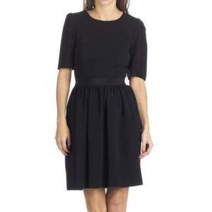 Tara Jarmon S Skater Dress Black